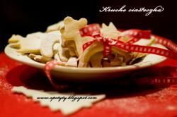 Ośnieżone kruche ciasteczka