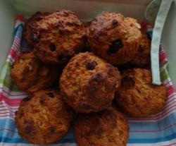 Owsiane muffiny dietetyczne