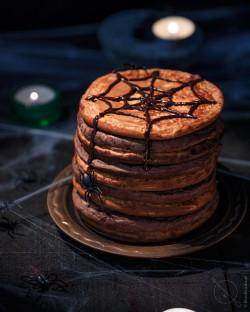 Pancakes bezglutenowe dla dzieci halloween