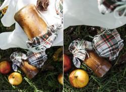 Prażone jabłka na szarflotkę