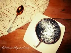 Kawowe ciasto z mikrofali w 3 minuty