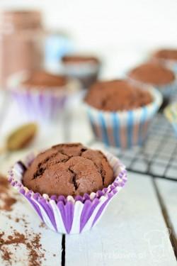 Pyszne babeczki kakaowe