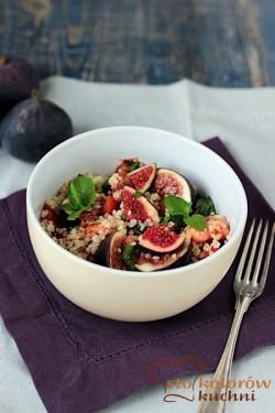 Quinoa z figami