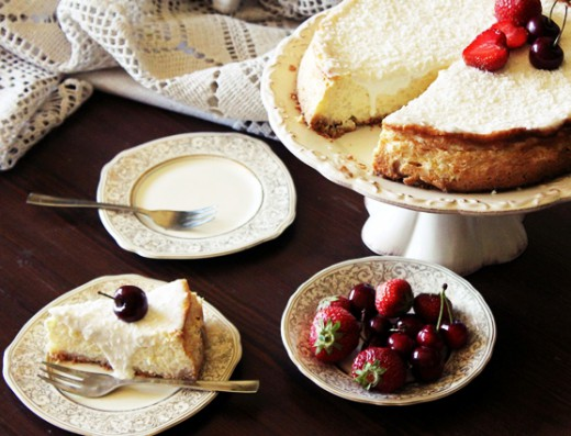 sernik ryżowy rice cheesecake