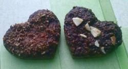 Muffiny czekoladowe / kakaowe z kokosową lub migdałową posypką