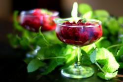 Sorbet z mrożonych owoców