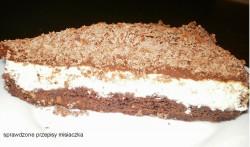 Szwedzki sernik czekoladowo-pomarańczowy