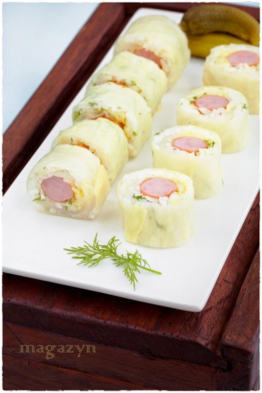 Sushi zamiast gołąbków