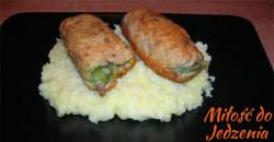 Rolada z brokułem i boczkiem