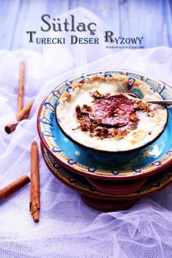 turecki budyń ryżowy
