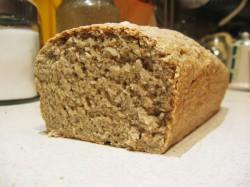 Chleb Owsiany z Lnem