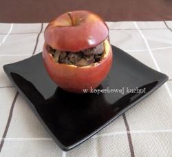 Wątróbka drobiowa w jabłkach