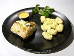 Dorsz z grilla i puszysty sos cytrynowy