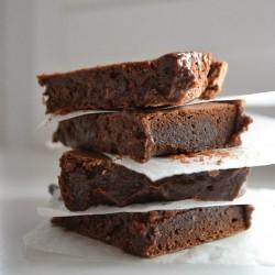 Bezglutenowe czekoladowe brownie
