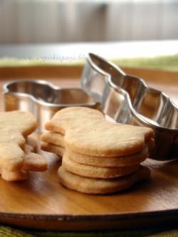 wielkanocne ciasteczka waniliowe