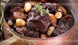 Wołowina w sosie imbirowym