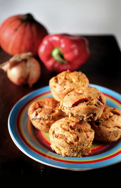 Wytrawne muffinki z warzywami