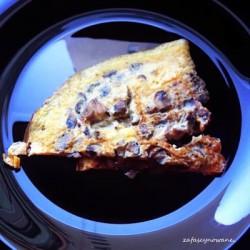 .Omlet z pieczarkami