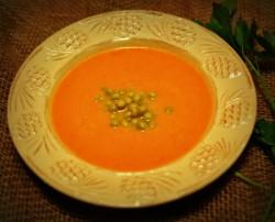 Zupa-Krem z Młodych Marchewek
