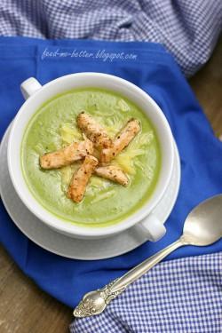 Zupa – krem z zielonego groszku