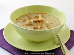 Zupa kurkowa z ryżem