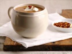Zupa z soczewicy i suszonych pomidorów