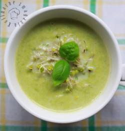Zupa z zielonego groszku ~