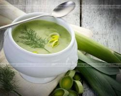 Zupa ziemniaczana z porami Oliwii