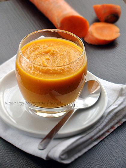 zupa(krem) marchewkowa z pomarańczą