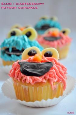 Babeczki z Elmo