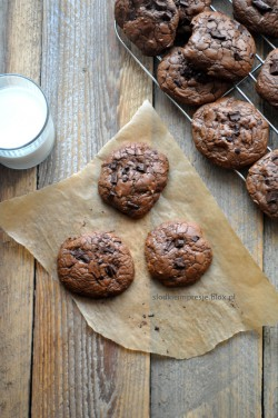 Ciasteczka czekoladowe z piernikową nutą