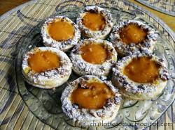 Ciasteczka z galaretką i orzechami