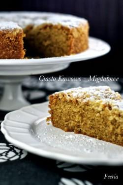 ciasto kawowo – migdałowe