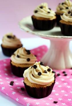 cookie dough cupcakes ciasteczkowe