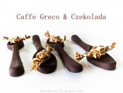 Czeskie kino, jednorazowe łyżeczki i ziarenka z Caffe Greco. Karmelisu.