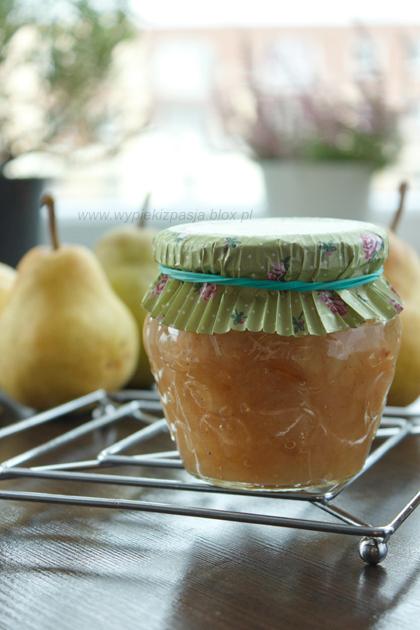 Dżem gruszkowy z wanilią