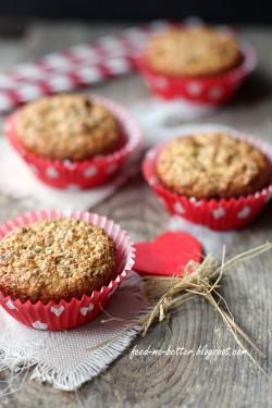 Dietetyczne muffiny otrębowe bez mąki.