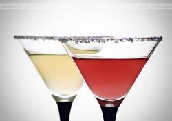 Drink z campari i soku z cytryny