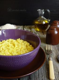 Dyniowe risotto z szafranem