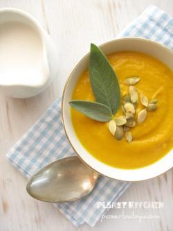 Jesienna zupa z dynią