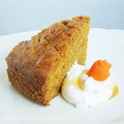 Marchewkowe ciasto z miodem