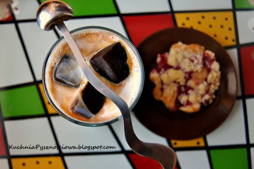 Mleko kawowe z orzechówką