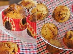 Muffinki wafelkowe