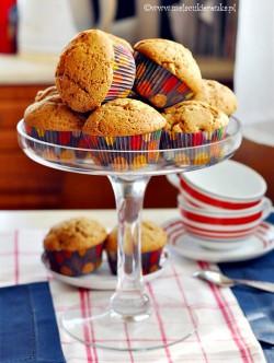 muffinki z jablkami
