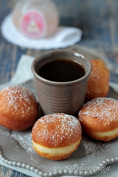 Пончики на простокваше рецепт с фото