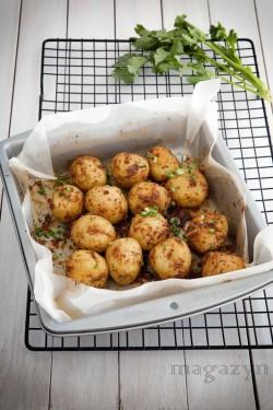 Pieczone ziemniaki z kminem