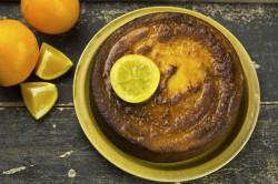 Pomarańczowe Ciasto