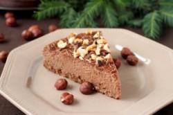 Sernik czekoladowo – cynamonowy