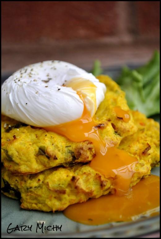 Warzywne placuszki z curry