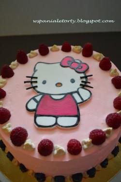 wspaniałe torty: TORT Z HELLO KITTY